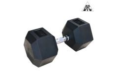 Гантели DFC гексагональные обрезиненные 42.5 кг/ (пара) DB001-42.5