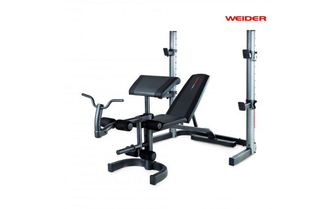 Силовая скамья со стойкой Weider Pro 490 Dc