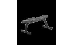 Скамья горизонтальная BRONZE GYM H-036A  (черный)
