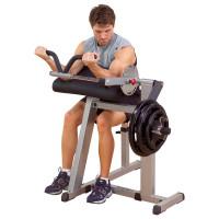 Тренажер бицепс-трицепс на свободных весах