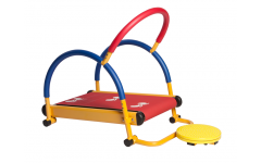 Детская беговая дорожка с диском-твист