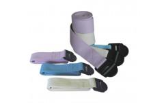 Ремень для йоги, синий 183х3.8 см FITEX PRO